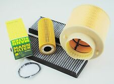 MANN Ölfilter SCT GERMANY Luftfilter Pollenfilter Audi A6 4F 2,4-3,2 FSI TFSI