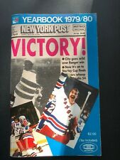 """New York  RANGERS""1979-80 Year Book- NHL"
