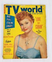 "October 1953, Lucille Ball, ""TV World"" Magazine/ Vintage Volume 1 No. 3"