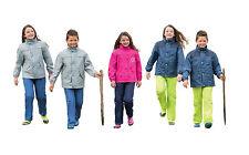 Kinder-Regenanzug in 3 Farben Regenjacke und Regenhose NEU Pink Blau Grau