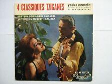 YOSKA NEMETH EP FRANCE 4 CLASSIQUES TZIGANES