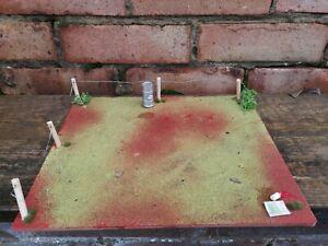 1:18 diorama Scene garage yard modified