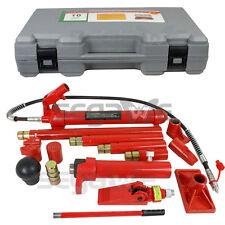 10 Ton Porta Power | Hydraulic Jack Air Pump Lift Ram Repair Tool Kit Auto Body