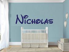 Custom Name Disney Font Wall Decal For Boys Girls Nursery Room