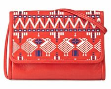 Isabella Fiore Pelegrine Embroidered Crossbody Clutch Handbag New With Tags NWT