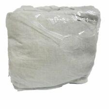 Pottery Barn KING Belgian Flax Linen Contrast Flange Sheet Set Natural/White