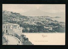Italy NAPOLI Panoramic View c1902 u/b PPC