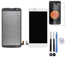 ECRAN LCD + VITRE TACTILE BLOC COMPLET ASSEMBLE POUR LG K8 K350N DUAL 4G BLANC