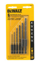 DeWalt Rapid Load Black Oxide Drill Bit Set 1/4 in. 6 pc. Hex Shank DW2551
