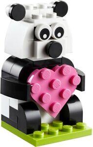 Lego Valentine Panda Monthly Build 40396 Polybag BNIP