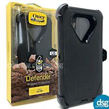 OTTERBOX DEFENDER COVER CASE FOR LG V20 RUGGED HOLSTER WITH CLIP BLACK