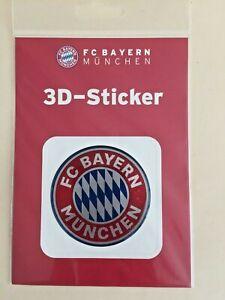 3 D Aufkleber Sticker / Autoaufkleber Logo rot FC Bayern München 20652