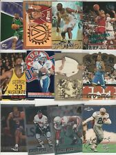 90'S INSERT LOT (110) DIFFERENT CLASSIC / DRAFT PICK INSERTS (ALL SHOWN) MULTI