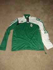 2007 Adidas Mexico Soccer Training Top Green Womens XL/Mens Large