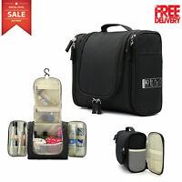 Waterproof Toiletry Hanging Bag Travel Cosmetic Kit Large Essentials Organizer