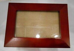 Wooden Photo Album Box With 4 Photo Album Sleeves, Holds 96 Photos 8X8X6