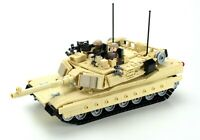 Ultra M1a2 Abrams Main Battle Tank custom set made with REAL LEGO® bricks