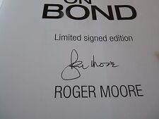 Roger Moore James Bond On Bond 007 Signed Autographed Book PSA Certified
