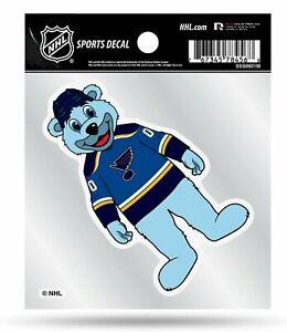 St Louis Blues 4x4 Decal Sticker Mascot Logo Premium Flat Vinyl Auto Home Hockey