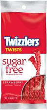 Twizzlers Strawberry Twists SUGAR FREE - American Sweets - 141g