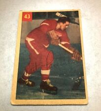 1954-55 Parkhurst #43 Marty Pavelich DETROIT RED WINGS