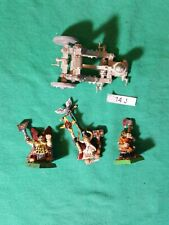 Lot 14J Dwarf Stone Thrower Grudge Catapult Thane Runesmith Metal OOP