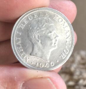 1946 Romania 500 Lei Coin *XF+*