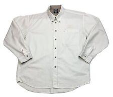 Mens Vintage Western Star Trucks Dealer Shirt Sz XL Tortoise Shell Buttons 1990s