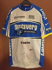 Maglia Radtrikot Shirt Maillot Ciclismo Cycling Team Discovery Channel Trek Nike