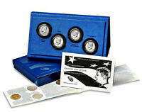 2014 JOHN F KENNEDY HALF DOLLAR SILVER COIN COLLECTION 4-COIN SET US MINT
