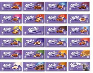 Milka Schokolade 500g - 5kg vers. Sorten gemischt Neuware OVP (1,10€-0,90€/100g)
