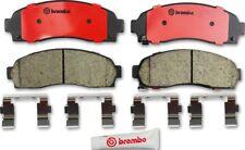 Disc Brake Pad Set-Premium NAO Ceramic OE Equivalent Pad Front Brembo P10042N
