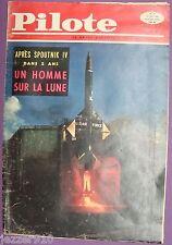 LOT de 5 PILOTE TETE SERIE ¤ n°31-32-33-34-35- ¤ 1960 avec les PILOTORAMA
