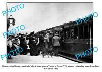 OLD LARGE PHOTO AUST's 1st VICTORIA CROSS WINNER JOHN BISDEE BOER WAR 1902