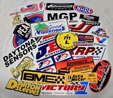 Lot of 10 Racing Decals Stickers Hot Rod Drag Race NHRA Nascar Grab Bag