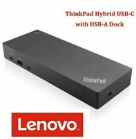 Lenovo ThinkPad Hybrid USB-C With USB-A Dock Docking Station with Cables