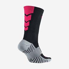 NIKE MatchFit Soccer/Football Crew Socks SX4854-060 M (6-8) Black / Pink