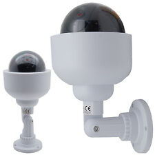 Überwachungskamera 360° Dome Dummy mit LED Kamera für Außen Innen Attrappe