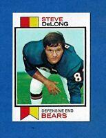 1973 TOPPS FOOTBALL #63 STEVE DeLONG NM CHICAGO BEARS