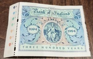 Royal Mail 300th Anniversary Of The Bank Of England Stamp