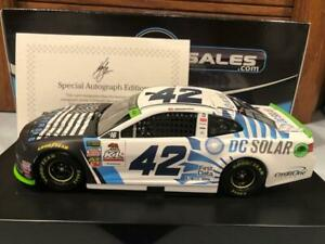 2018 Action Kyle Larson #42 Vegas Strong DC Solar 1/24 Autographed 1 of 144
