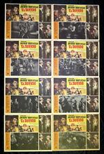 "JOHN WAYNE ""EL DORADO"" JAMES CAAN ROBERT MITCHUM CHARLENE HOLT LOBBY CARD SET 66"