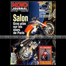 MOTO JOURNAL N°1295 VFR 800 HONDA NT 650 V DEAUVILLE VOXAN YAMAHA AG 100 1997