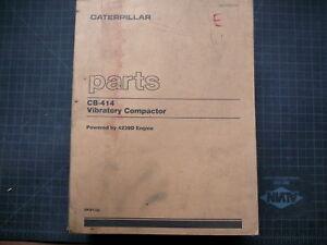 CAT Caterpillar CB-414 Compactor Roller Parts Manual CB414 6KD catalog spare