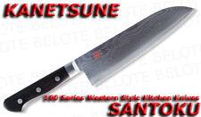 Kanetsune Damascus 180mm SANTOKU Kitchen Knife KC-103
