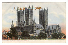 Lincoln Cathedral - Photo Postcard 1907