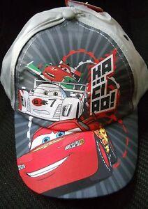 "Disney Cars ""KA CI AO!"" Youth Grey Baseball hat"