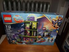 LEGO, DC SUPER HERO GIRLS, LENA LUTHOR KRYPTONITE FACTORY, KIT #41238, NIB 2017