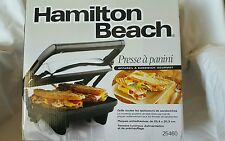 Hamilton Beach 25460A Panini Press Gourmet Sandwich Maker
