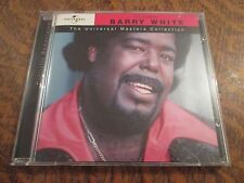 cd album classic BARRY WHITE the universal masters collection